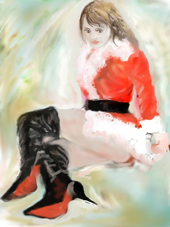 E-0020-006, Modèle de Nowell...Christmas model, art digital, 2015-07-01