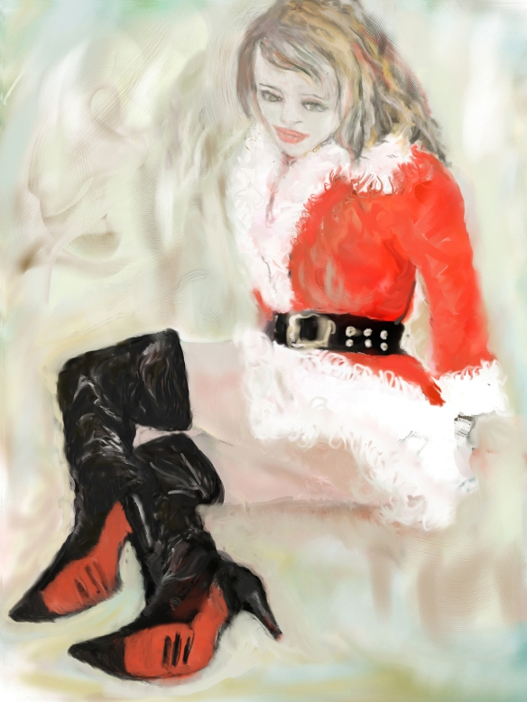E-0020-011, Modèle de Nowell…Christmas model, art digital, 2015-07-13