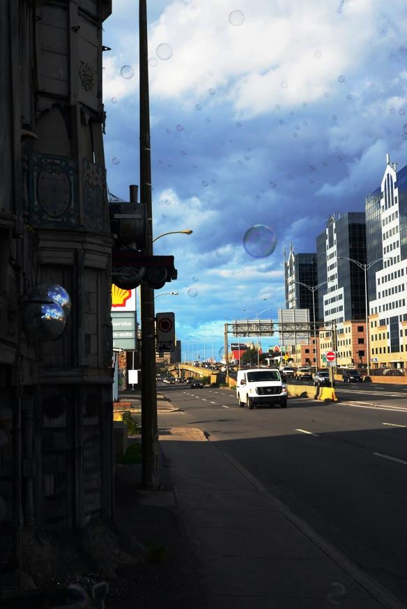 Bulles / Bubbles Metropolitain Highway / autoroute métropolitaine 2015-08-23 (dsc_5339-R)